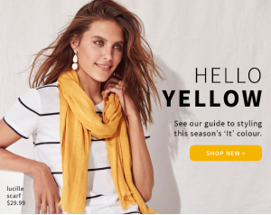 Jeanswest – Hello Yellow 💛+ 2 for $99 Jeans!*