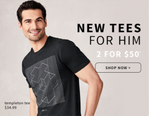 Jeanswest – NEW TEES FOR HIM