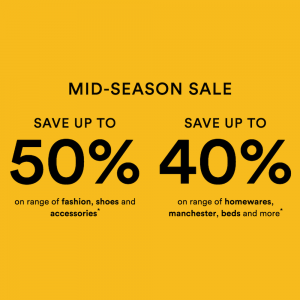 David Jones – Mid Season Sale Now On