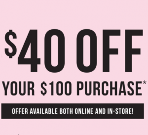 Colette by Colette – Take $40 off your $100 Purchase! #TAKE40