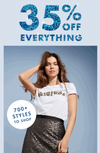 Dotti – 35% Off Everything