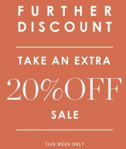 Peter Alexander – Further Discount