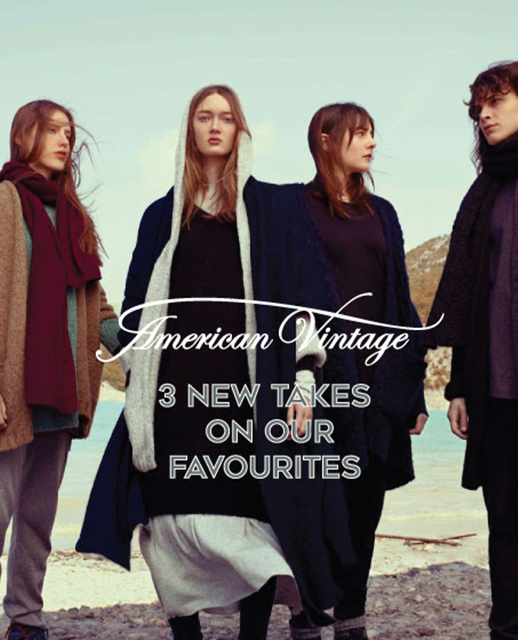 ECO D. – 3 New takes On our favourite American vintage styles