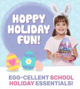 Smiggle – Your 1-stop shop for school holiday fun!